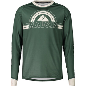Maloja RuediM. Long Sleeve Freeride Jersey Men forest glade